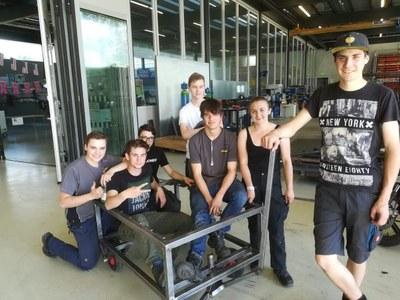 Schüler der Berufsschule Bludenz