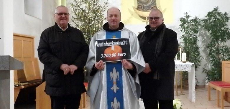 """Großartiges Ergebnis beim """"Advent im Franziskanerkloster"""""""