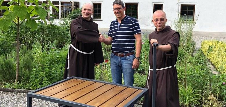 Krippentransportwagen fürs Franziskanerkloster