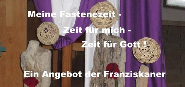 Meine Fastenzeit - Zeit für mich - Zeit für Gott