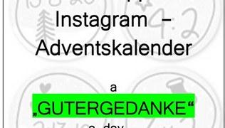 Vorschaubild WhatsApp + Instagram - Adventskalender