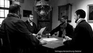 Filmclub - Getzner - Vertragsunterzeichnung