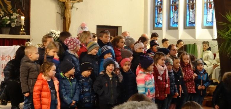Unsere Don Bosco-Messe am 2.2.2020 mit unserem Kindergarten