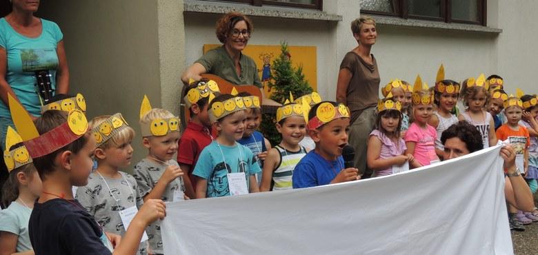 """""""Ein Königreich für die Zukunft"""" - Jahresthema 2019/2020 im Kindergarten Heilig Kreuz"""