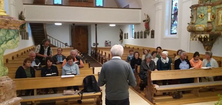 Kirchenchor Heilig Kreuz startete in das neue Probenjahr