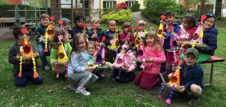 Ostern im Pfarrkindergarten Heilig Kreuz