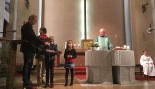 Vorschaubild Familiengottesdienst mit der Vorstellung der Erstkommunionkinder