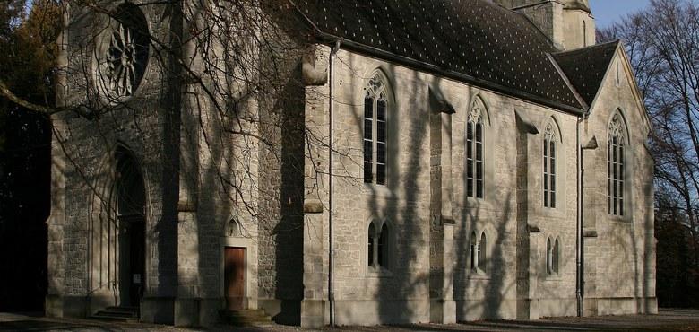 Kirchenführung - Evangelische Kreuzkirche, Energieort in der Römersiedlung am Bodensee