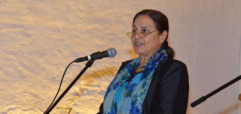 Friedensdialog mit Sumaya Farhat-Naser