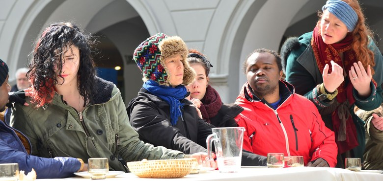 Wachet und Betet, Gebetsstunde am Ölberg