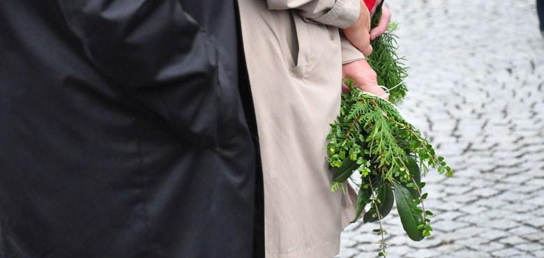 Palmsonntag - Segnung der Palmzweige