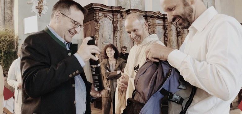 Altpfarrer Anton Bereuter feierte seinen 80er