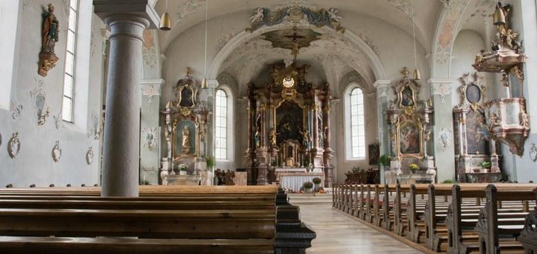 Vom heiligen Gallus zum heiligen Gebhard ...  Ein Einstieg verbunden mit einem Aufstieg über mehrere Etagen
