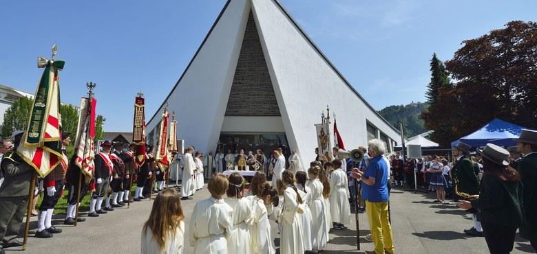 Fronleichnam in St. Kolumban