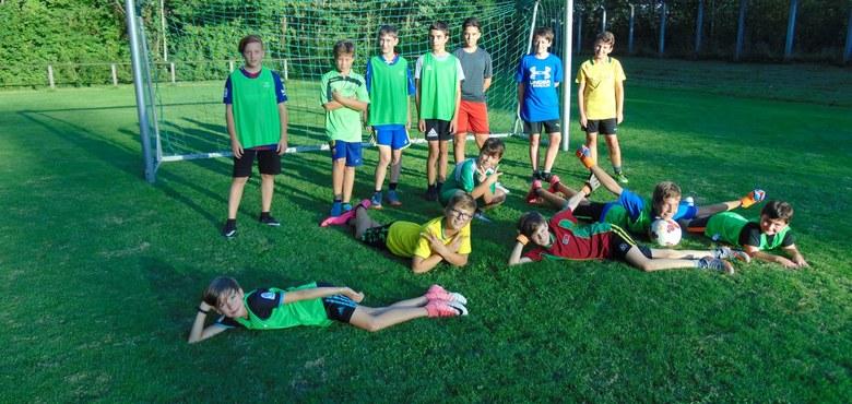 """Ministranten """"Mini-Fußballtraining"""" oder FC St. Kolumban"""