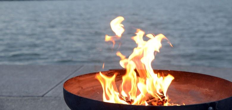 Wie die Hirten am Feuer