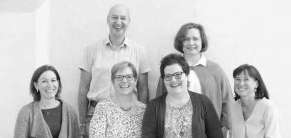Die neuen Gemeindeleiterinnen und ein Leiter