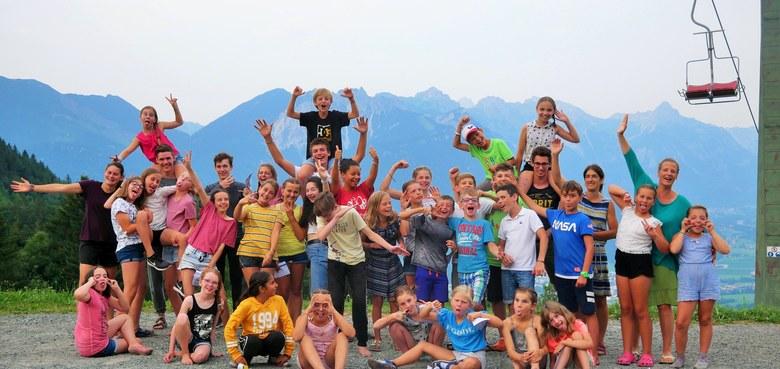 Sommerprogramm für Kids von 8 bis 15 Jahren