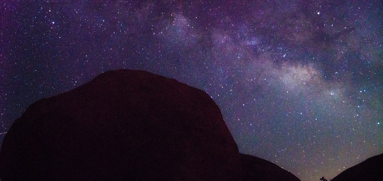 Sternennacht am Berg