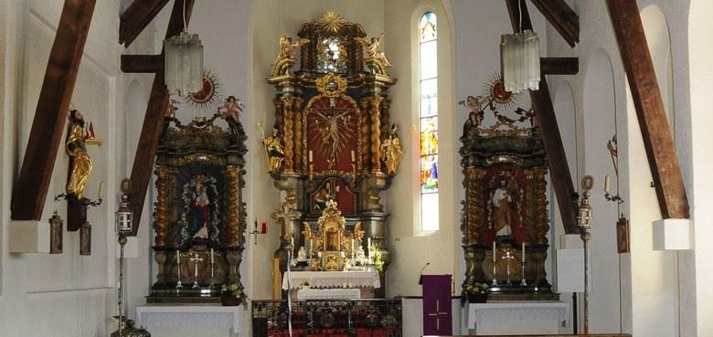 Geschichte der Kirche in Ebnit