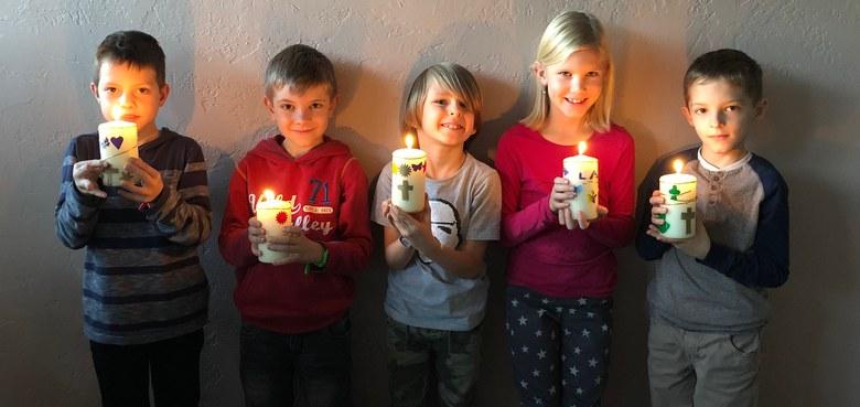 Vorstellung Erstkommunionkinder