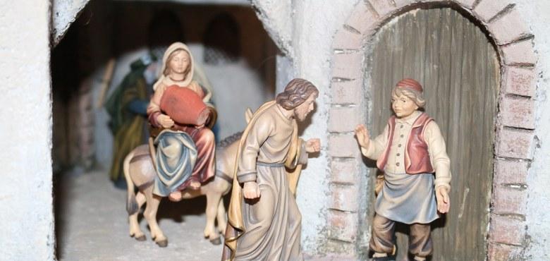 Herbergsuche im Advent