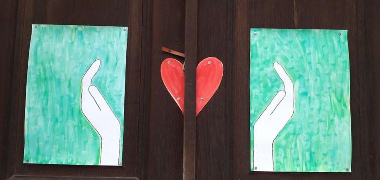 Plakataktion Kirchentüren