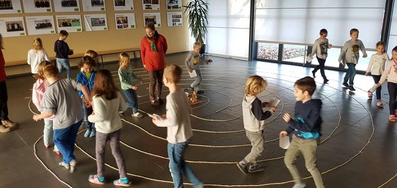 Besuch im Labyrinth
