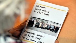 Vorschaubild 50 Jahre Kirchenchor St. Christoph