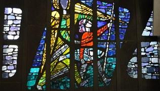 Vorschaubild Glasfenster - Pfarrkirche St. Christoph