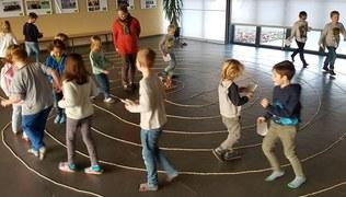 Vorschaubild Labyrinth im Foyer