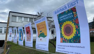Vorschaubild Rohrbach LIEST, neue Bücher in der Bücherei!