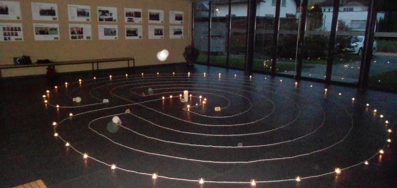 Sommerkirche - Meditation im Labyrinth