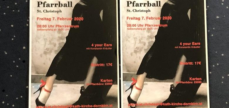 Pfarrball St. Christoph 2020