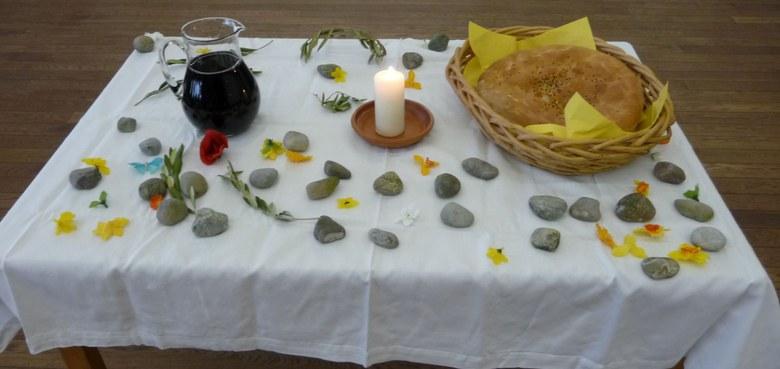 Brotfeier am Gründonnerstag für Kinder und Jugendliche