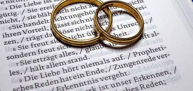 Wenn ihr kirchlich heiraten wollt ...