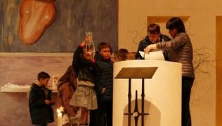 Vorschaubild Tauferneuerung unserer Erstkommunionkinder