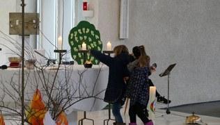 Vorschaubild Weggottesdienst der Erstkommunionkinder