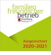 Familienfreundlicher Betrieb 2020
