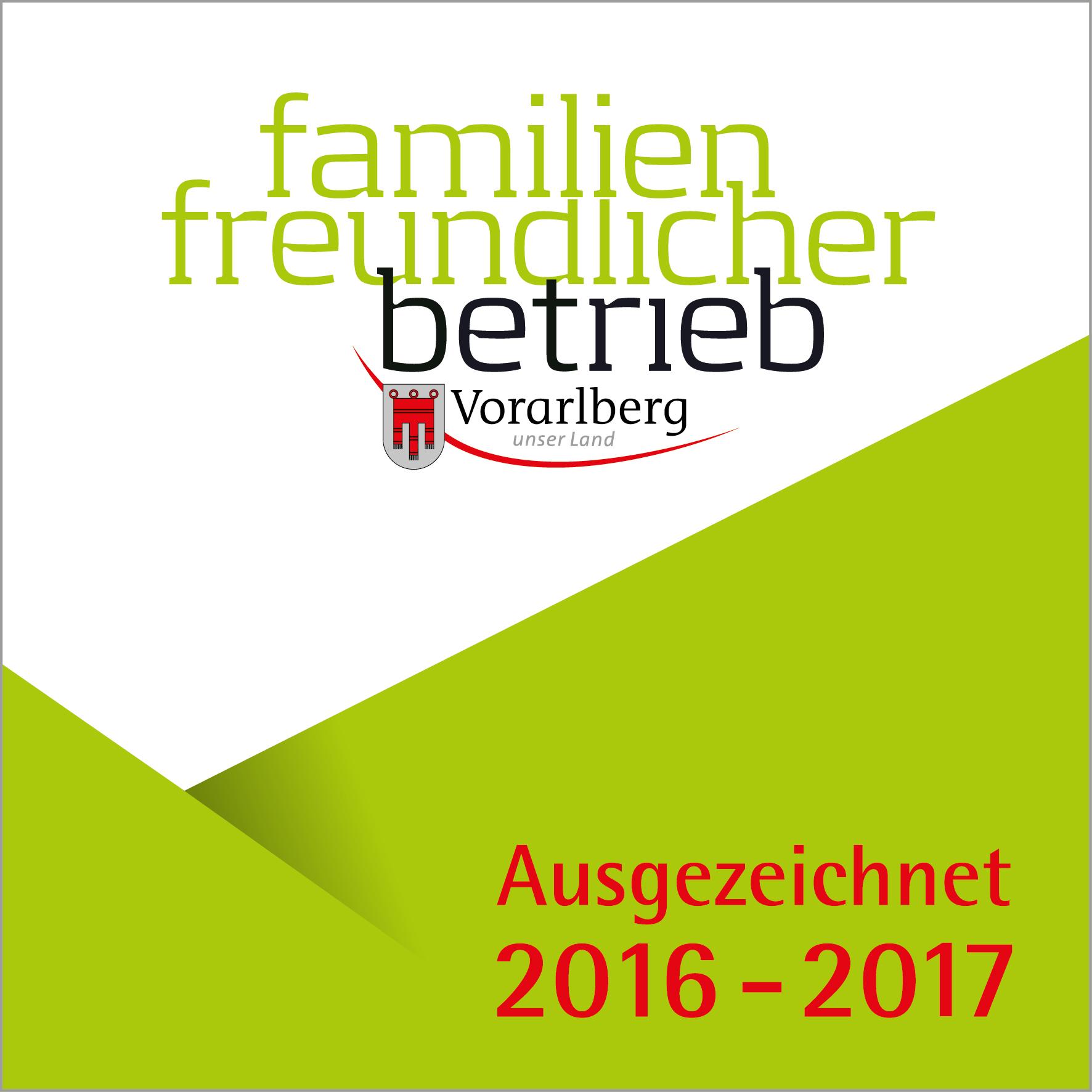 EFZ Gütesiegel Familienfreundl.Betrieb