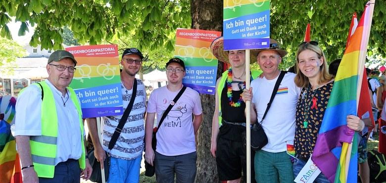 Ich bin queer! Dankgottesdienst am Beginn des Christopher Street Day 2019