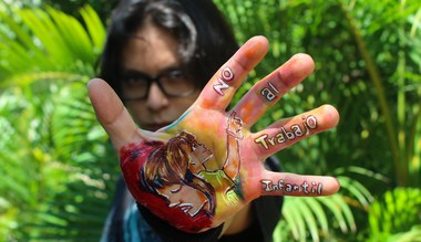 Tesaserbild für den Artikel Über 4600 Hände - gegen Kinderarbeit!