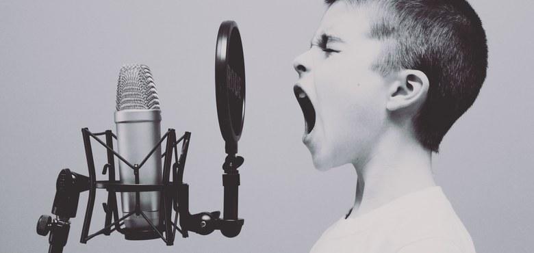 Lieber unangenehm laut als angenehm leise.
