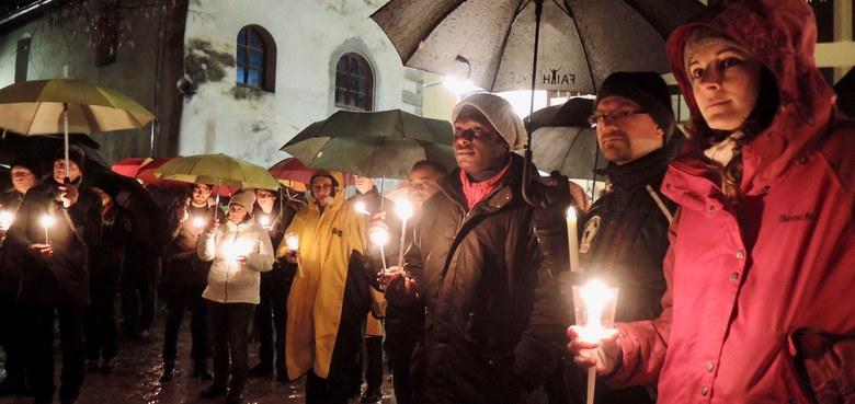 Lichtermarsch für verfolgte Christ/innen