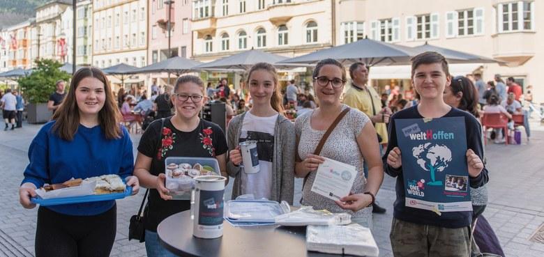 PopUp WeltHoffen - Charity Aktion für Firmlinge