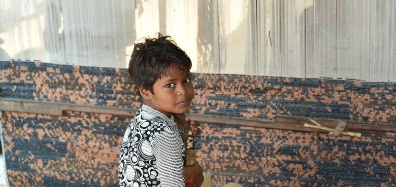 Albtraum ausbeuterische Kinderarbeit
