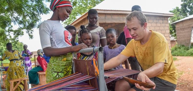 LernEinsatz in Ghana: Die Reiseziele des Menschen sind Menschen