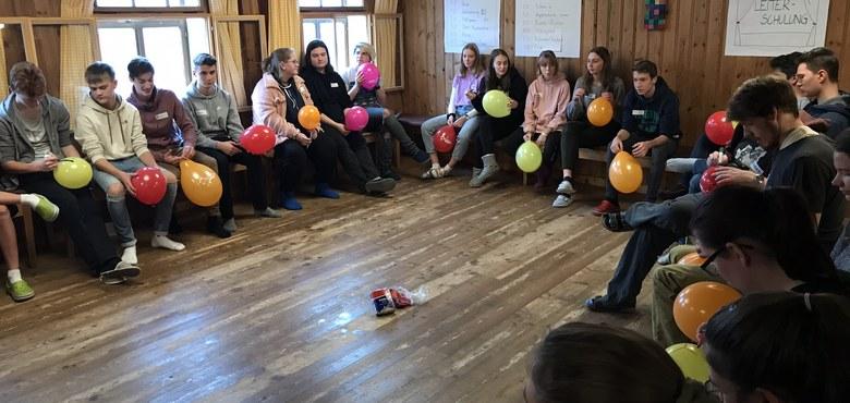 Start der Ausbildung Kinder- und Jugendgruppenleiter/in