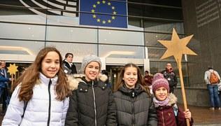 Vorschaubild Sternsinger in Brüssel