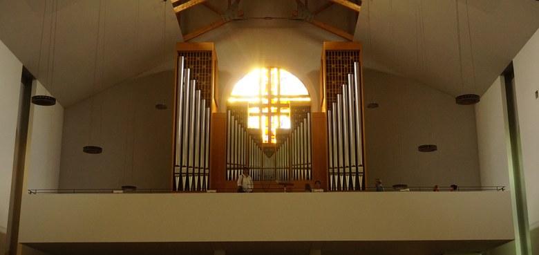 Unsere Orgel